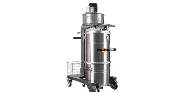 Industriële stofzuiger Aspirapolveri-liquidi Planet Medium Inox_NL