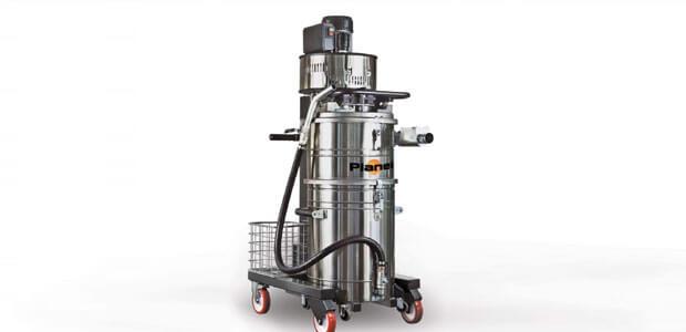 Industriële stofzuiger Aspirapolveri-liquidi Planet Medium Oil Inox_NL