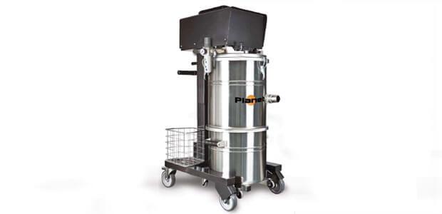 Industriële stofzuiger Aspirapolveri-liquidi Planet Medium Pneumatic Inox_NL
